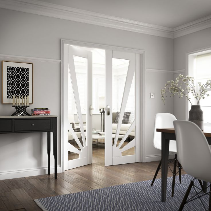 how to make interior double doors