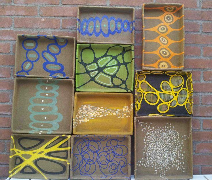 trays..