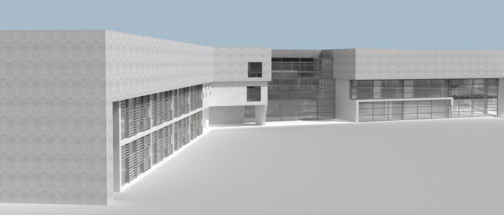 Junior high school and display room
