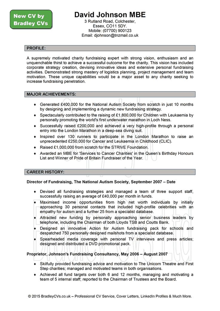 Cvs Resume Example A Good Resume Example HttpWww Resumecareer InfoA