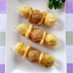 Spiedini di Polpette #fingerfood #italianfood #recipe