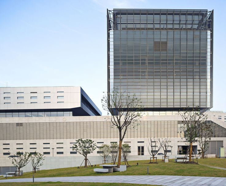 Built by Silvio d´Ascia in Shanghai, China with date 2014. Images by Yves Chan You. Paris-based studio Silvio d'Ascia Architecture completes new data processing center for the Bank of Shanghai, its sec...