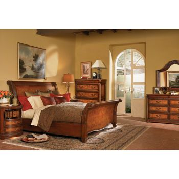 Costco Vineyard 6 Piece King Sleigh Bedroom Set Bedroom Pinterest Vineyard King And