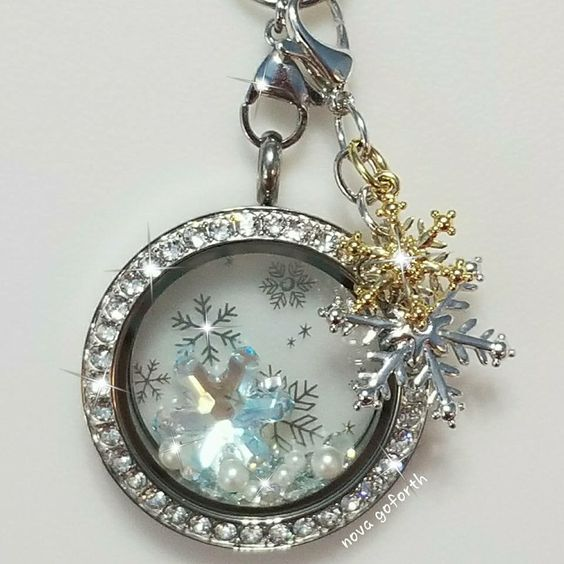Let it snow!  Origami Owl Jewelry! Create yours: https://hiortgirls.origamiowl.com/