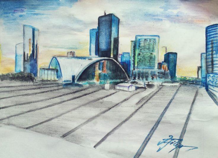 Captivi în La Défense – madalina.zmed