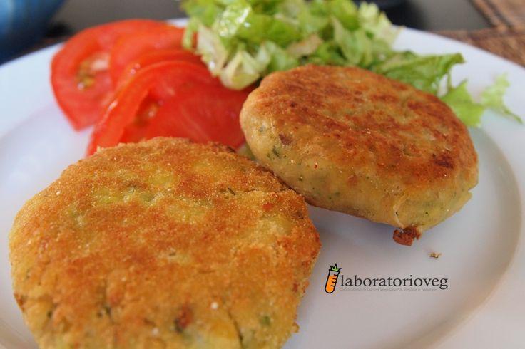 burger ceci e zucchine