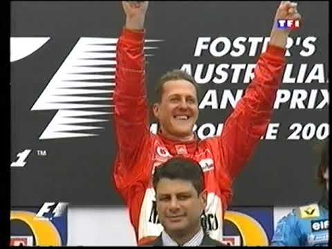 F1 - Podium Grand Prix Australie - 2004