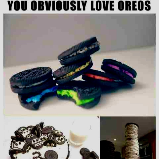 YOLO: you obviously love oreos | why not? | Pinterest | Oreo and Love