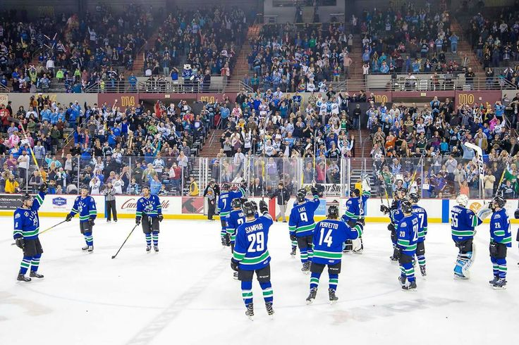 Team salute at last ever Alaska Aces game