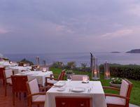 Galazia Hytra | The Westin Athens, Astir Palace Resort, Athens-Greece Michelin 1 star