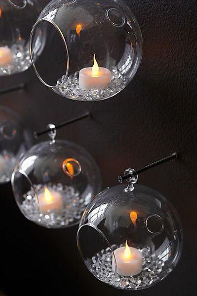 Best 25 candle arrangements ideas on pinterest diy for Diy hanging tea light candle holders