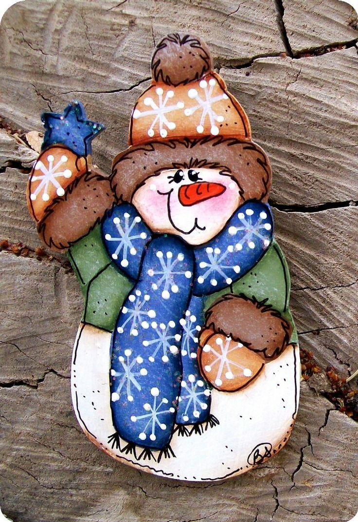 Buster muñeco de nieve Pin por CountryCharmers en Etsy, $6,50