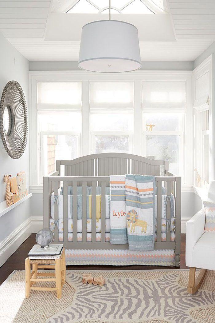 babyzimmer gestalten babyzimmer set grau weiss - Babyzimmer Graustreifen