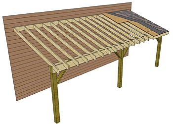 Lean To Carport How To Build Lean To Addition Free Pdf Leanto