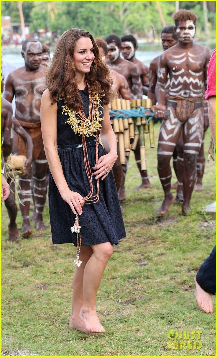 Triball Kate on Tavanipupu Island in Honiara, Guadalcanal Island: Duchess Of Cambridge, Tuvanipupu Island, Diamond Jubilee, Royal Family, Prince William, Kate Middleton, Solomon Islands, Princess Kate