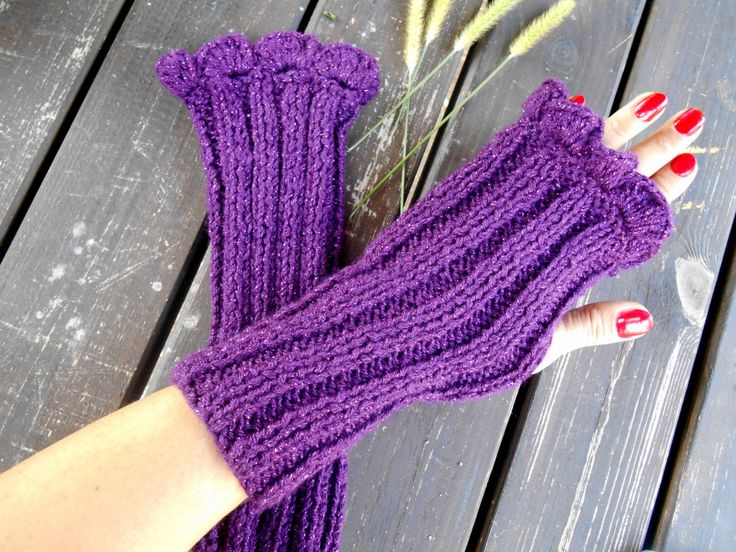 Knitted Arm Warmer, Mittens Gloves, Women Knitted Gloves, Hand Knitted Gloves, Winter Knitted Gloves, Fingerless Gloves, Crochet Gloves  100% 1st class. Quality Bright Purple, ropes were used. These fingerless. Soft, comfortable glove. Elegant was built. Long soft gloves. Learn how to keep warm in winter. Relatives brother, my friend. gift may be an alternative.  For best results, wash your hands cool and dry flat. Dry or iron, no bleach tumble.  Deliveries will then be sent out within 1-3…
