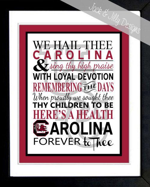 University of South Carolina - Alma Mater - USC Print
