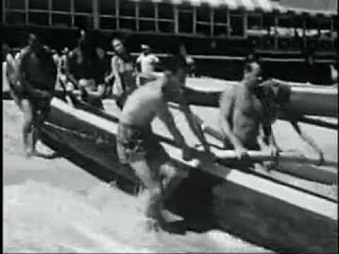 Duke Kahanamoku and The Beach Boys