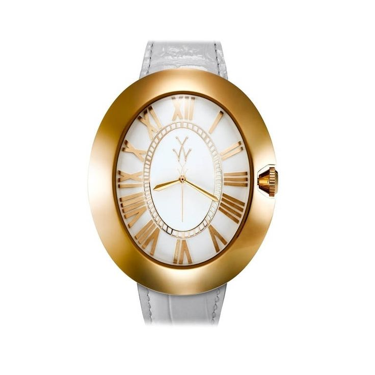 ToyWatch Dome and Yellow Gold BB01WHY, Women's