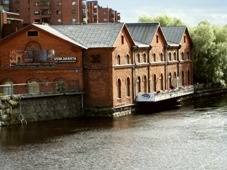 Verkaranta, an industrial heritage and unique architectural part of the city of Tampere in Finland. Today a very lively arts & crafts center with exhibition hall, workshops and café