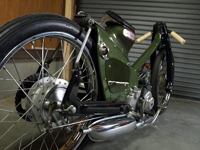 Custom Honda Cub