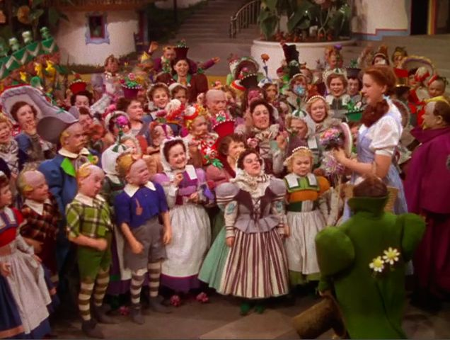 Munchkins!!! :) Love the Wizard of Oz