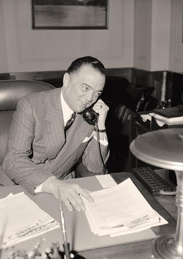 This is a similar one on the desk of (unfortunately) J. Edgar Hoover, back in the day.