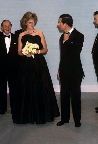 1985 04 03 Diana and Charles open the Wolfson Galleries of Classical Sculpture and Inscriptions at the British Museum in London