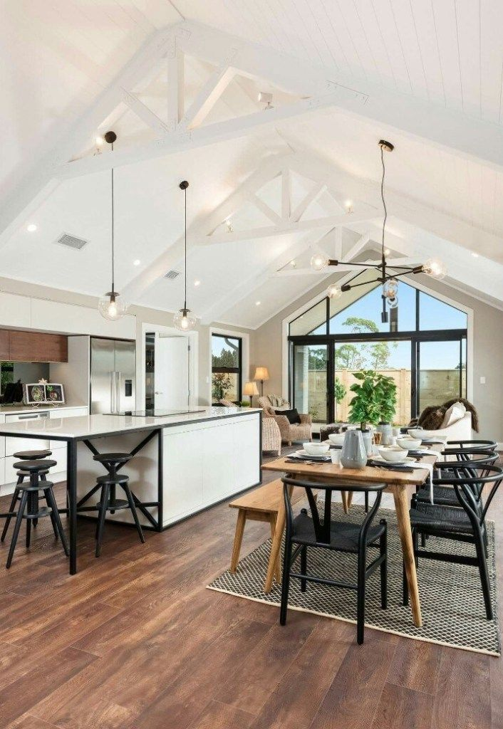 Vaulted Ceilings Are Understood Formally As Well As Informally With Numerous Vaulted Ceiling Kitchen Vaulted Ceiling Living Room Cathedral Ceiling Living Room