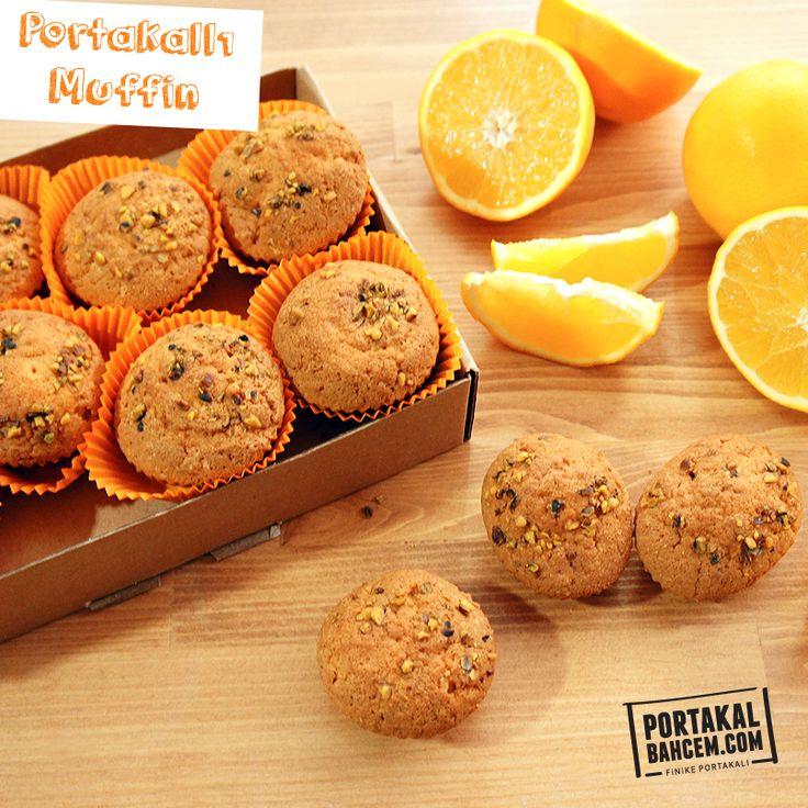Kokusu da tadı da mis gibi :) Finike'den portakallı muffin ▶ http://www.portakalbahcem.com/urun/portakalli-muffin/