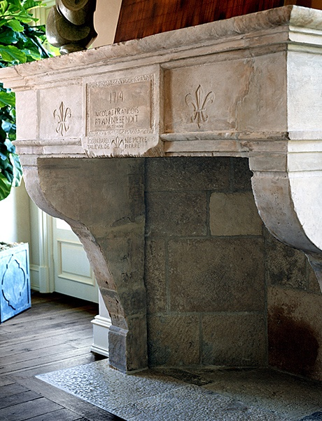 Exquisite Surfaces  antique limestone fireplaces have unrivaled character and patina. They reflect a natural splendor.