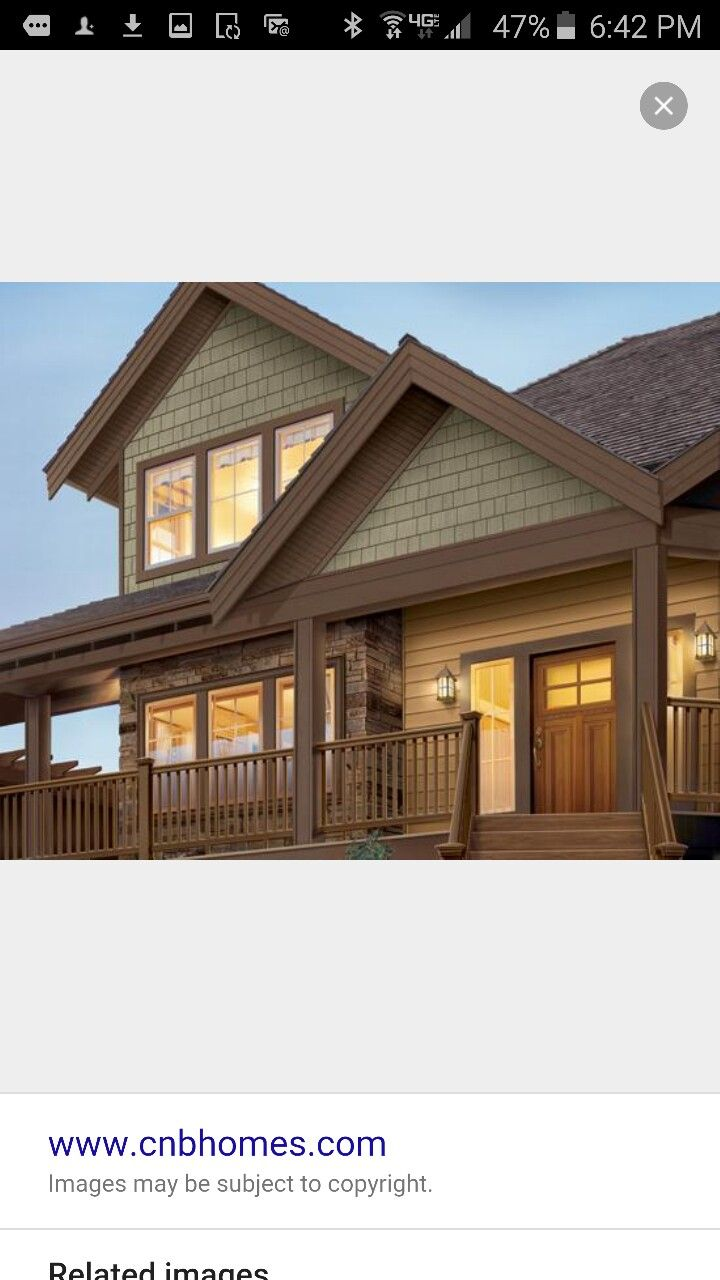 Brown Cedar Siding : Best exterior paint colors for brown roof images on