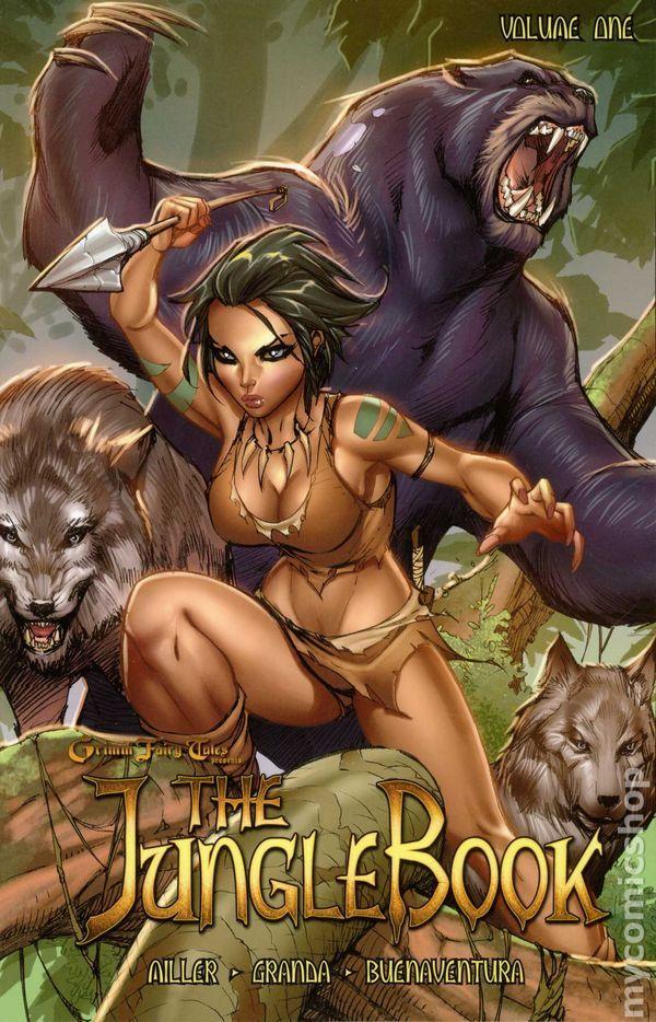 Grimm Fairy Tales | Grimm Fairy Tales Presents The Jungle Book TPB (2012 Zenescope) comic ...