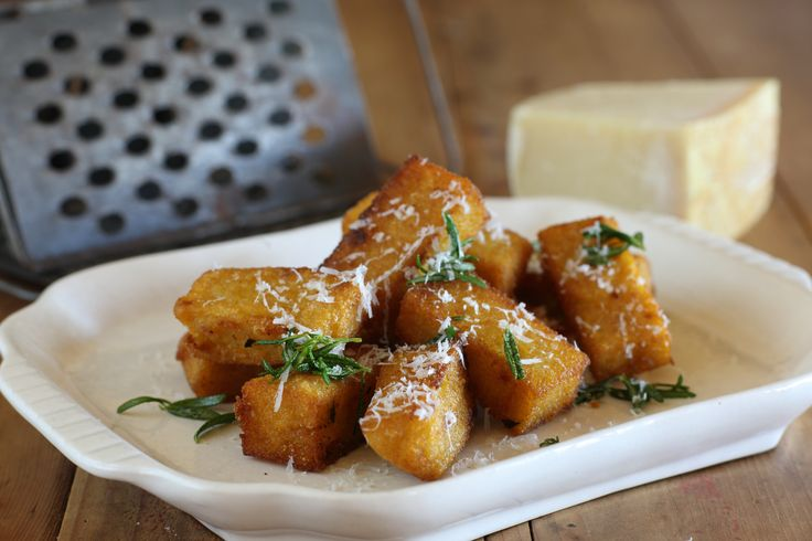 Crispy Polenta Bites with Rosemary and Parmesan - Maggie Beer
