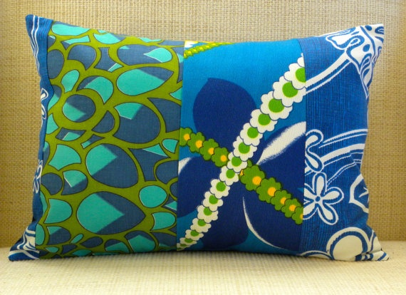 12 x 16 Pillow Cover  Vintage Floral Royal Blue & by SuzanneBag, $32.00Pillows Covers, Beach House, 32 00, Beach Decor, Tropical Pillows, 16 Pillows, Pillow Covers, 3200, Patchwork Pillows