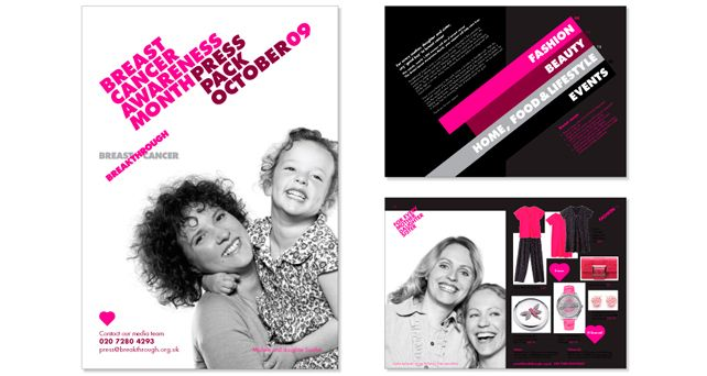 Breakthrough Breast Cancer Press pack | BHA