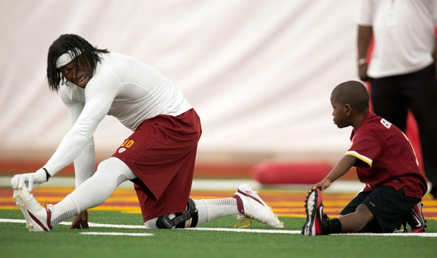 Washington Redskins make eight-year-old's dream come true
