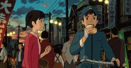 Croquette : From Up on Poppy Hill - Ghibli food