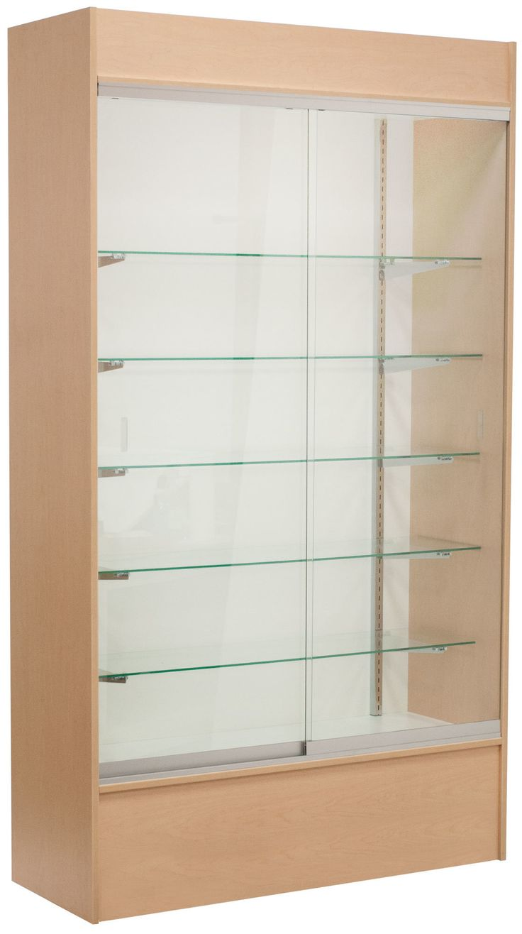 Christmas ornament display case - Wall Display Case With Led Light