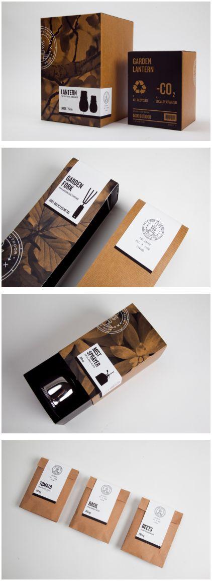 Home Goods | GOOD store: Outdoors packaging for outdoor/patio/gardening needs https://www.behance.net/gallery/-GOOD-Store-House-Brands/8700229