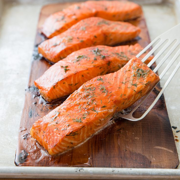 Why bother cooking salmon on wooden planks? Preventing sticking is just one reason. There's also flavor.