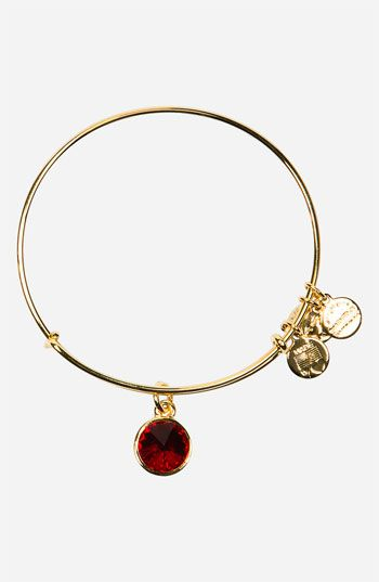 Alex and Ani birthstone bangle.