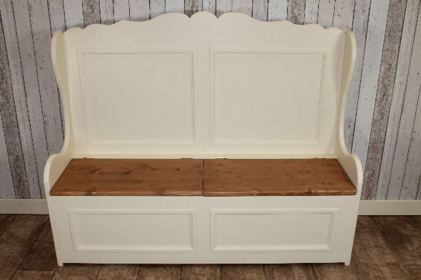 small bench seat with storage - Google Search