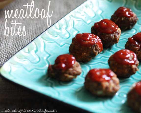 DIY: Appetizer Recipe: Meatloaf Bites