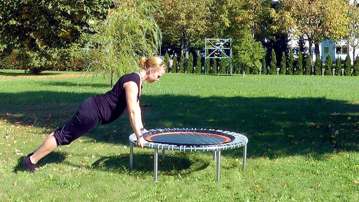 Exercises for strength and endurance on the bellicon rebounder