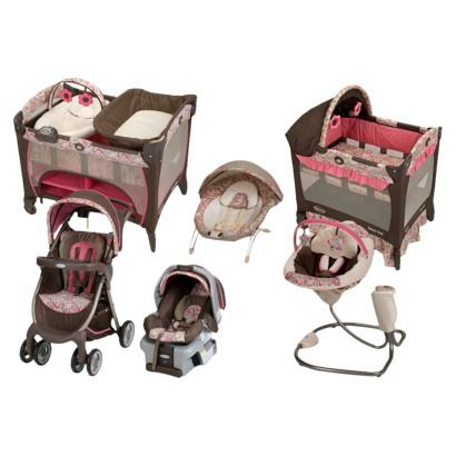 Graco Jacqueline Collection Princess Baby Shower