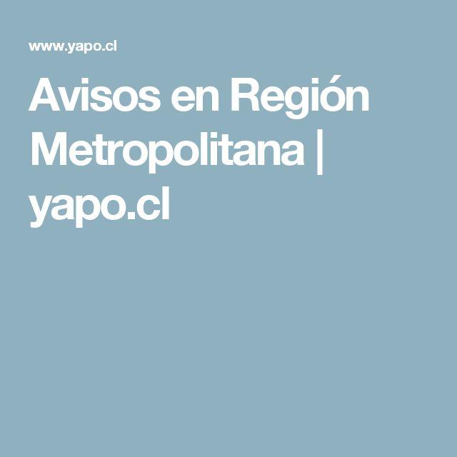 Avisos en Región Metropolitana | yapo.cl
