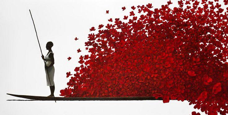 kolybanov - Любовь в воздухе.... Художник Pedro Ruiz