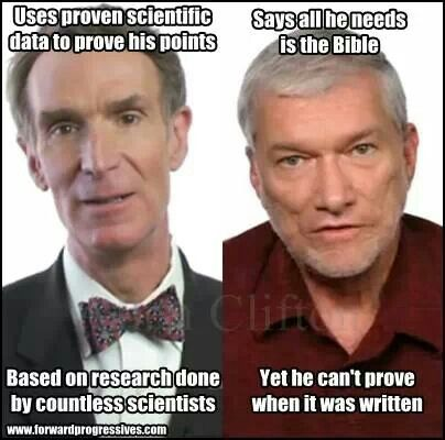 I watched the whole debate. My favorite part was when Bill Nye brought up the kangaroo fossils! I had never considered that. Brilliant!!!Ken Ham is truly delusional and completely irrational. Logic and reasoning are not in his vocabulary. He is not a reasonable man.