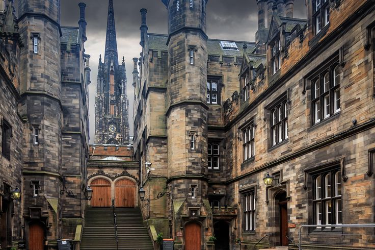 Photograph The University of Edinburgh by John McGregor on 500px
